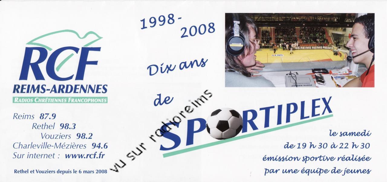 10 ans du Sportiplex 1