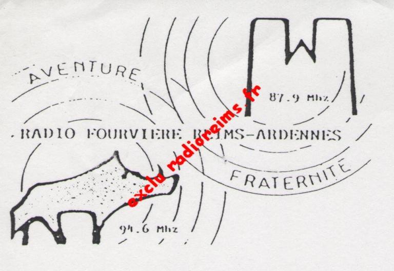 1er logo Radio Fourvière Reims Ardennes