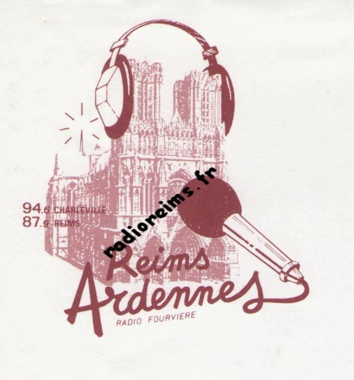2ème logo Radio Fourvière Reims Ardennes