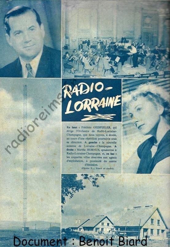 Article de presse décembre 1953