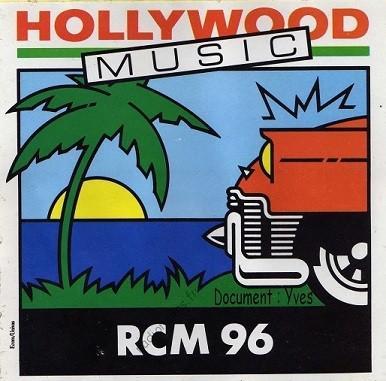 Autocollant Hollywood Music RCM