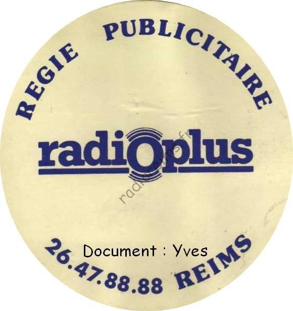 Autocollant Radio Plus