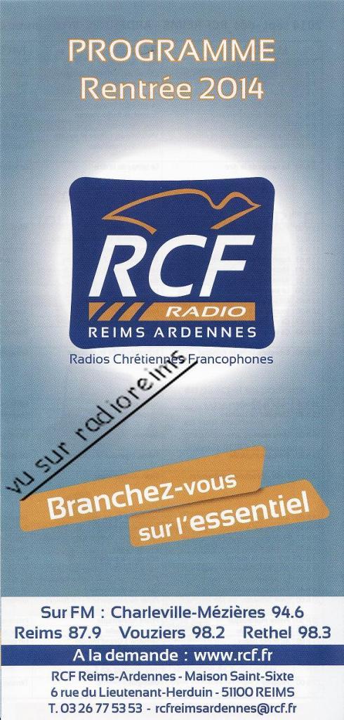 Dernier programme avec ancien logo