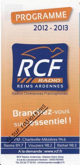 Programme avec erreur sur la fréquence de Reims
