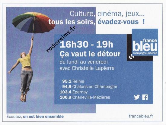 """""""Ca vaut le détour"""" France Bleu 2017"""