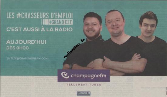 Opération Chasseurs d'emploi - Champagne FM