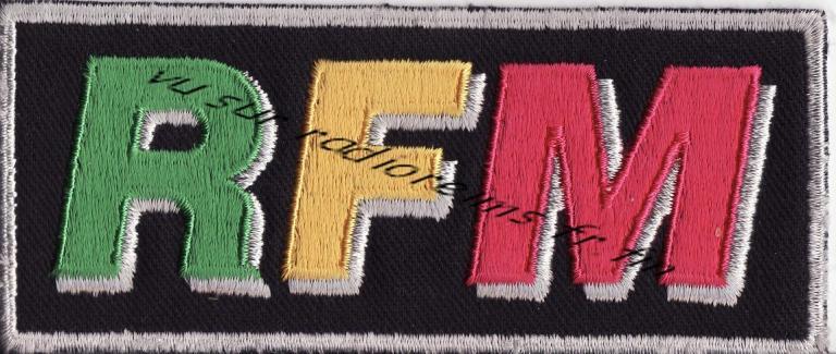 Ecusson RFM avec logo