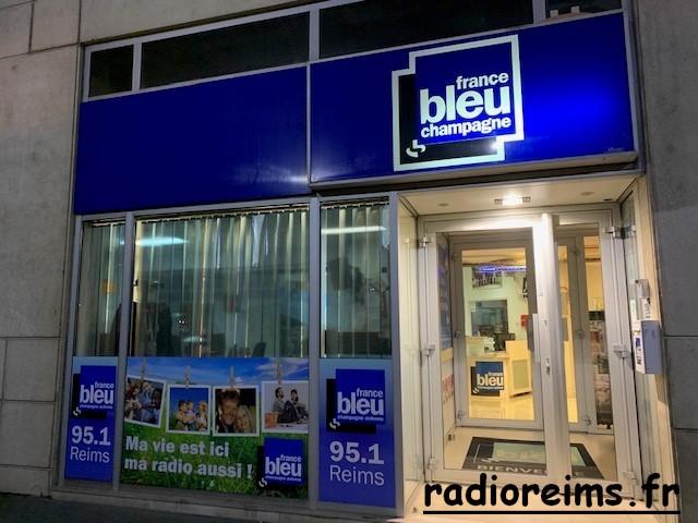 Entrée France Bleu CA en 2019 (photo France Bleu)
