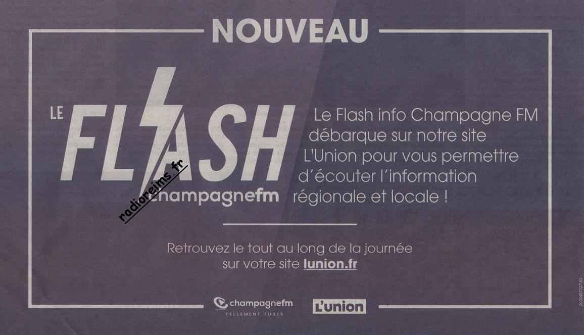 Flash Champagne FM sur le site de l'Union