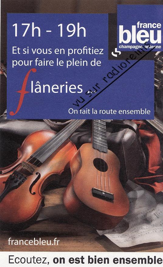 France Bleu Flâneries 2015