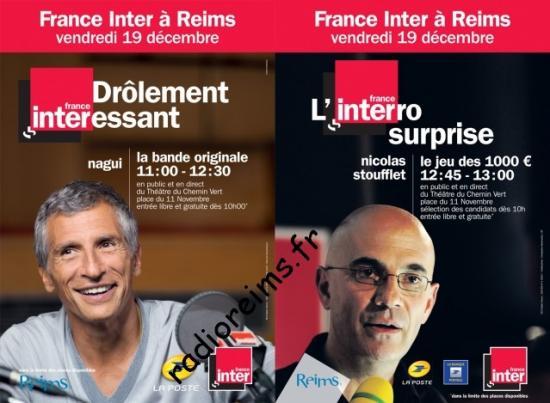 France Inter Reims 19 décembre 2014 avec vu