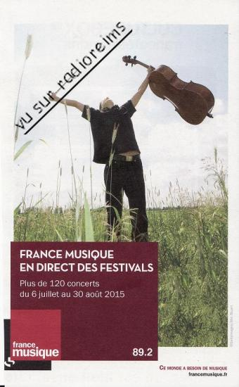 France Musique Flâneries 2015