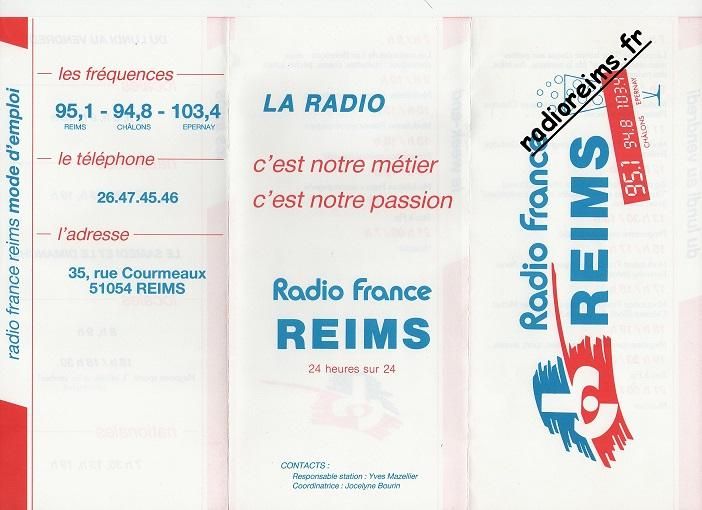 Grille Radio France Reims 88 89 part 2