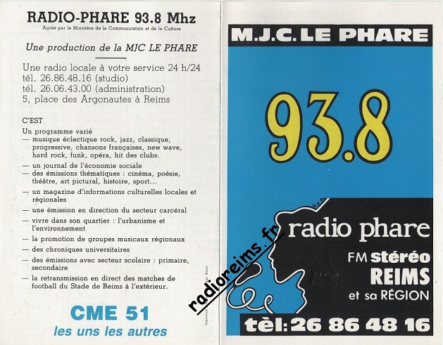 Grille Radio Phare 86 87 part 1