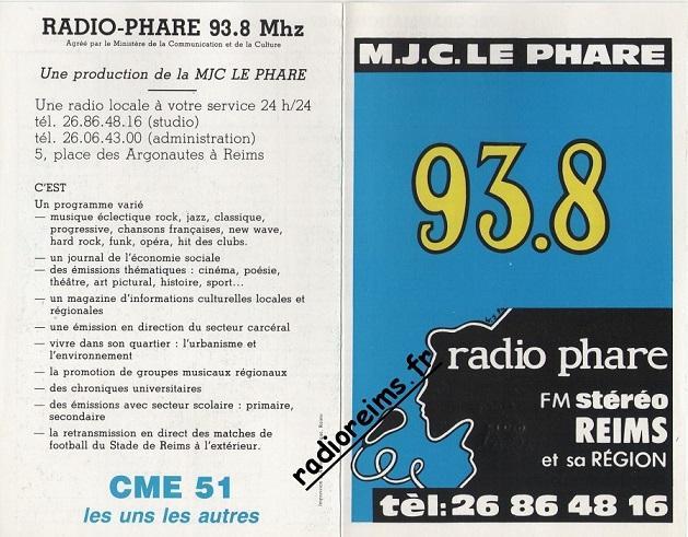Grille Radio Phare 86 87 part 1