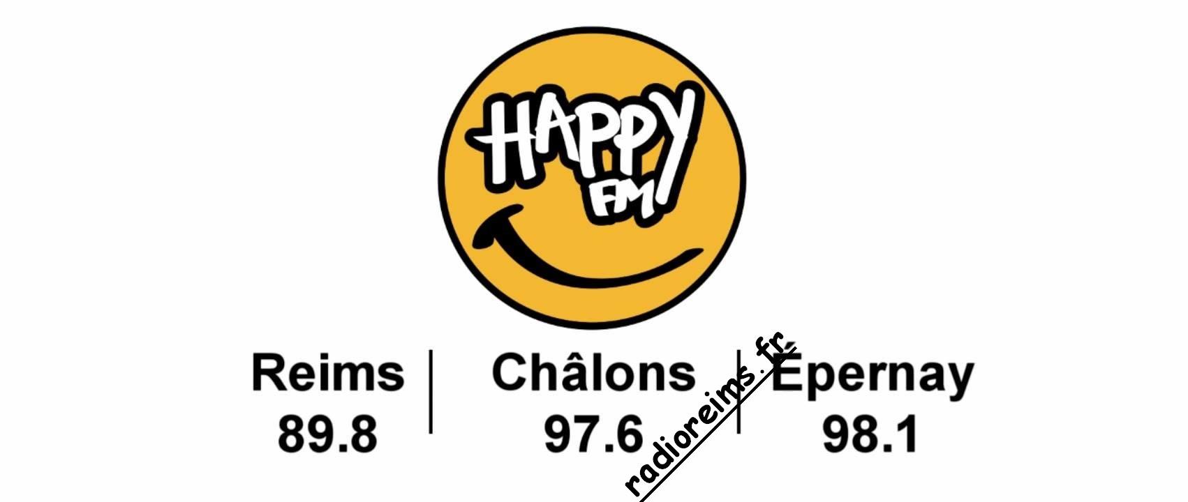 Happy FM avec les fréquences