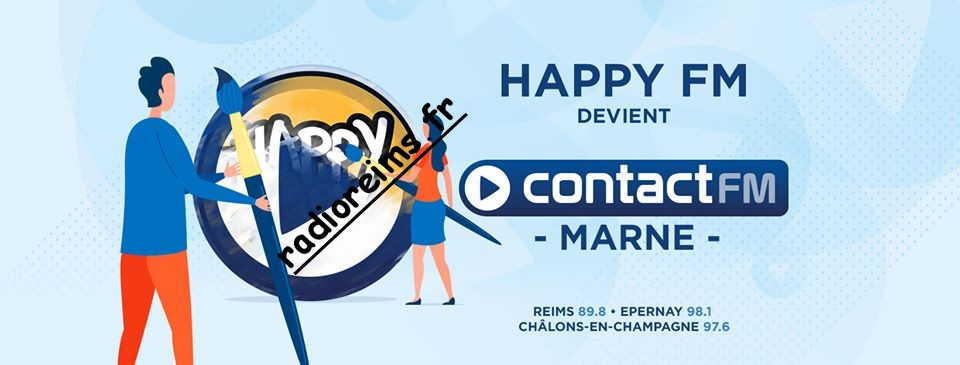 Happy FM devient Contact FM Marne 29 nov 2019
