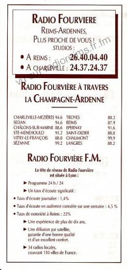 Présentation de Radio Fourvière Reims-Ardennes