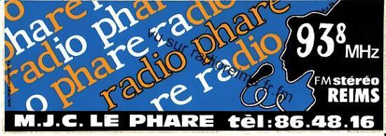 Autocollant Radio Phare