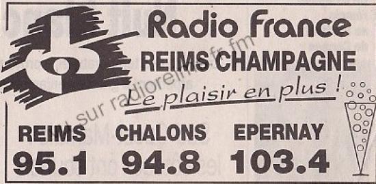 Pub Radio France Reims Champagne : ça pétille aussi !