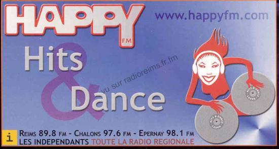 Pub Happy FM (parue sur l'Hebdo du vendredi)