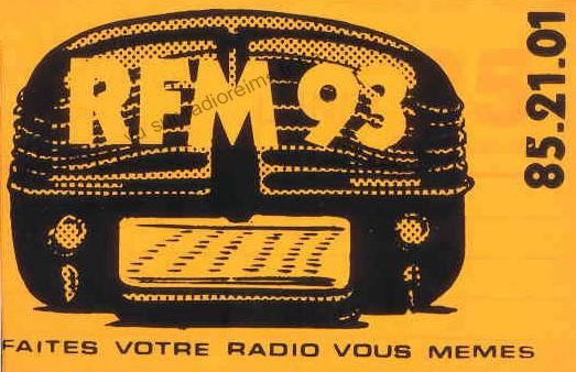 Autocollant RFM 93