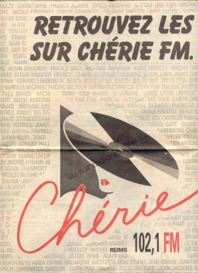 Chérie FM sur 102.1