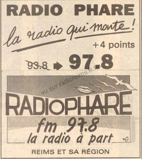 Radio Phare change de fréquence