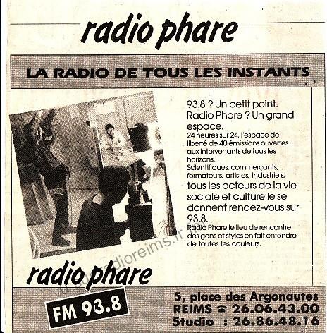 Présentation de Radio Phare