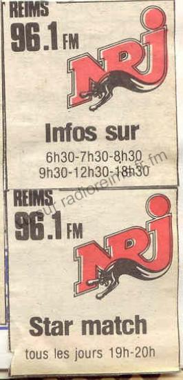 Programmes NRJ Reims