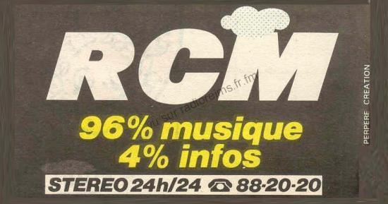 Le logo RCM