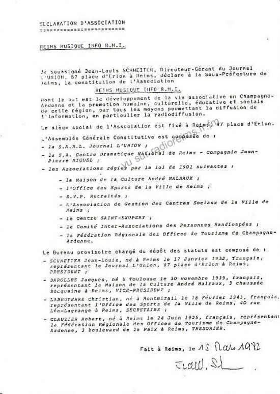 Reims Musique Info
