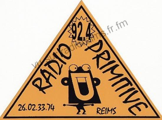 Autocollant Radio Primitive