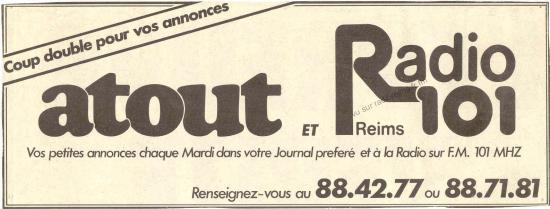 Radio 101 et Atout
