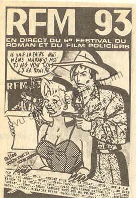 Reims Radio FM et le festival du polar de Reims