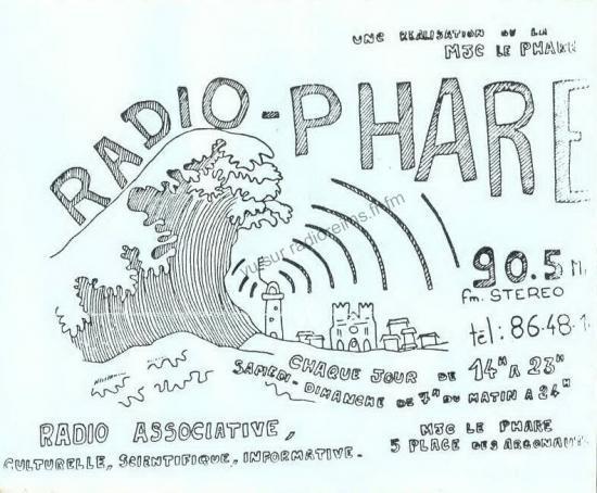 La toute première pub de Radio Phare
