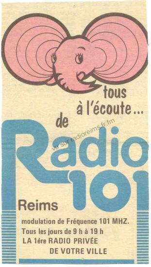 L'éléphant de Radio 101