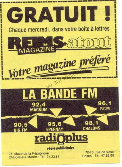 Radio Plus et Atout