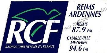 Autocollant RCF Reims-Ardennes