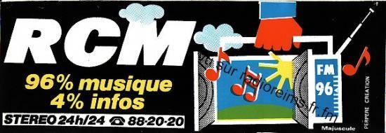 Autocollant RCM 96