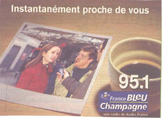 Pub France Bleu Champagne