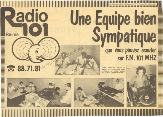 L'équipe de Radio 101