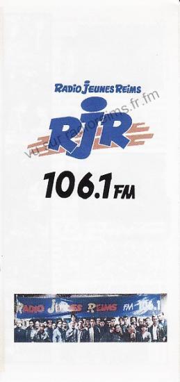 Plaquette de présenation de RJR