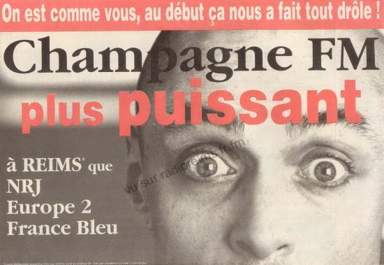 Champagne FM première