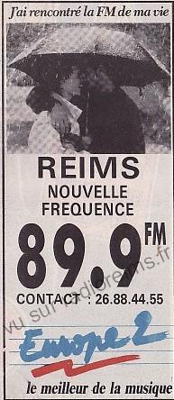 On pourrait croire qu'Europe 2 (92.3) a changé de fréquence.