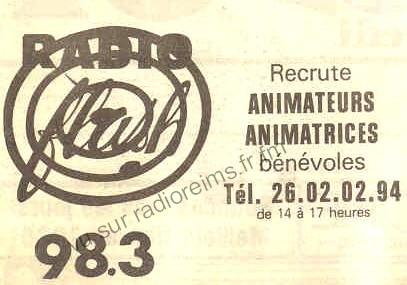 Radio Flash recrute