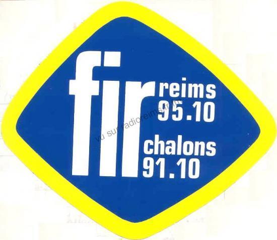 Premier autocollant FIR