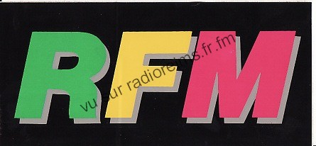 Autocollant RFM