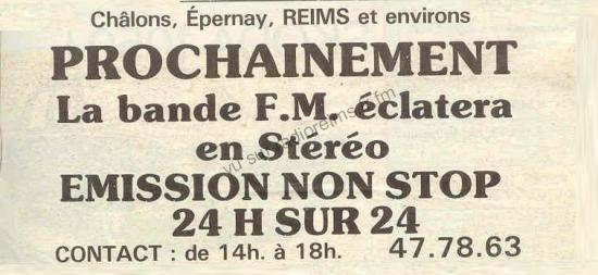Arrivée annoncée de Radio Clair Maret