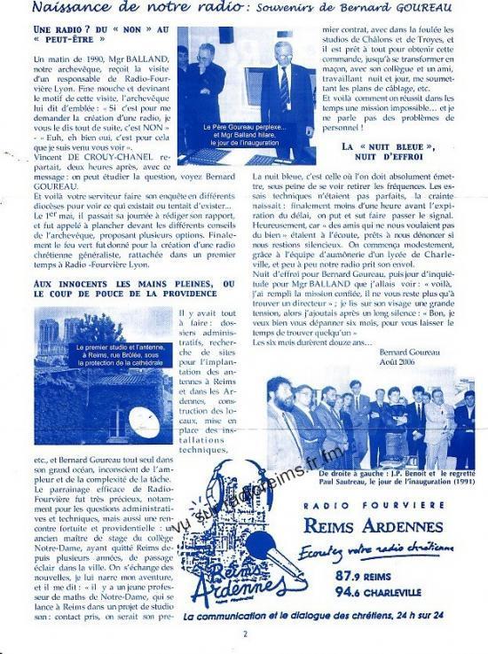 L'histoire de RCF
